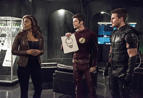 Ciara Renee Grant Gustin Stephen Amell The Flash Legends of Today