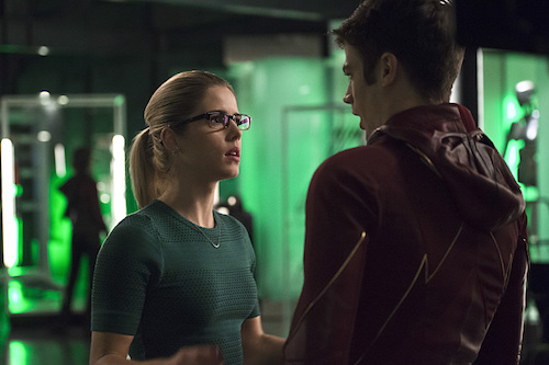 Grant Gustin Emily Bett Rickards The Flash Legends of Today
