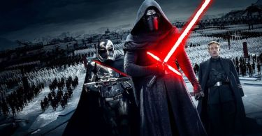 Gwendoline Christie Adam Driver Domhnall Gleeson Star Wars The Force Awakens