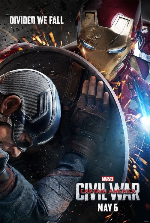 Iron Man Captain America Civil War Movie Poster