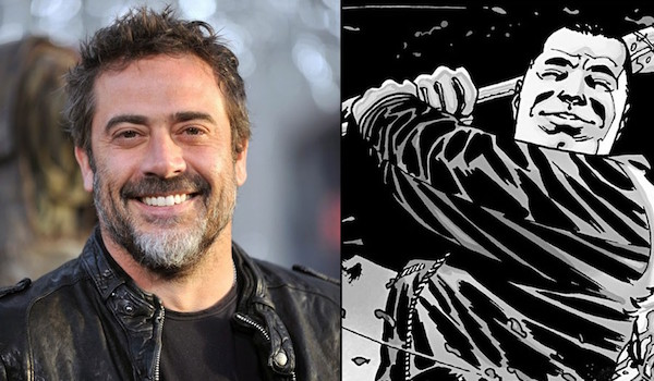 Jeffrey Dean Morgan Negan The Walking Dead Comic Book