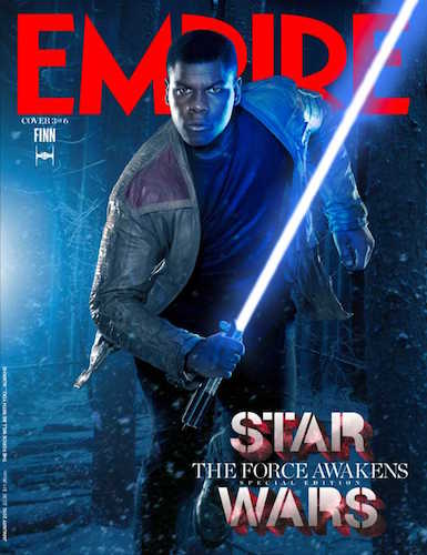 John Boyega Star Wars The Force Awakens Empire Cover
