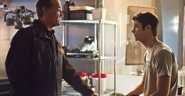 John Wesley Shipp Grant Gustin The Flash Gorilla Warfare