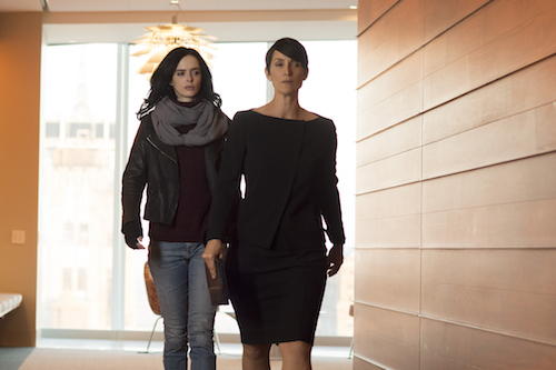 Carrie-Anne Moss Krysten Ritter Jessica Jones