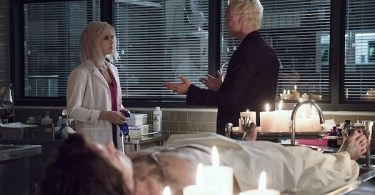Rose McIver David Anders iZombie Abra Cadaver