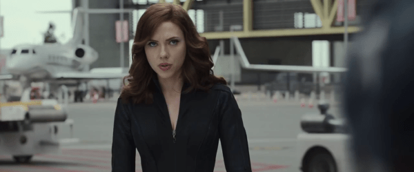 Scarlett Johansson Captain America Civil War