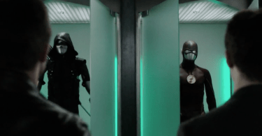 Stephen Amell Grant Gustin The Flash Legends of Yesterday Trailer