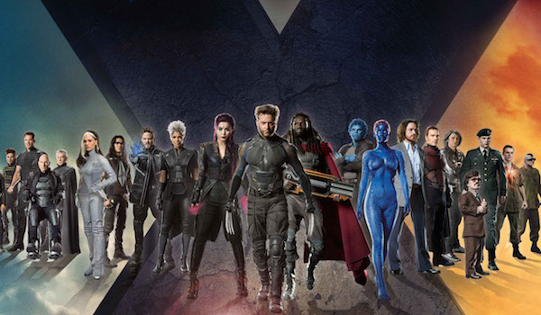 X-Men Cast Days of Future Past