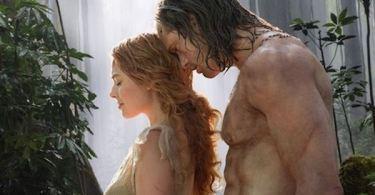 Alexander Skarsgard Margot Robbie The Legend of Tarzan