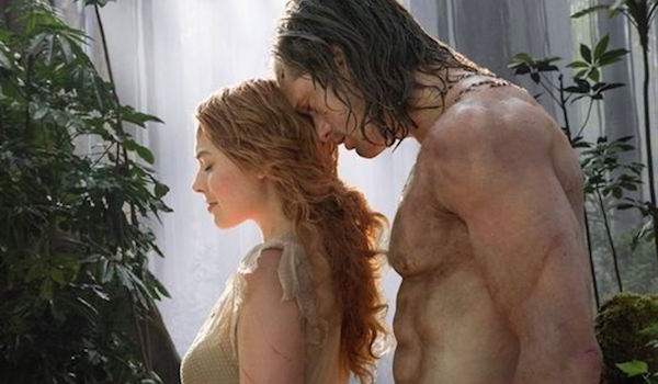 Alexander Skarsgard Margot Robbie The Legend of Tarzan