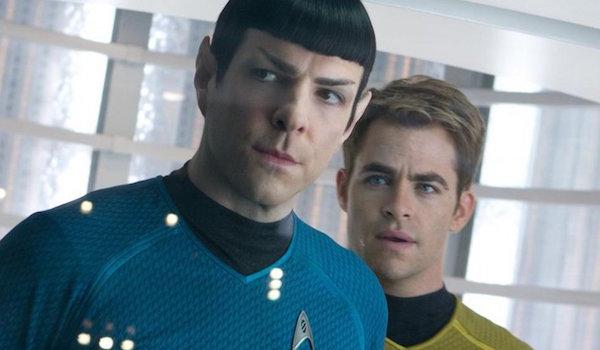 Chris Pine Zachary Quinto Star Trek Beyond