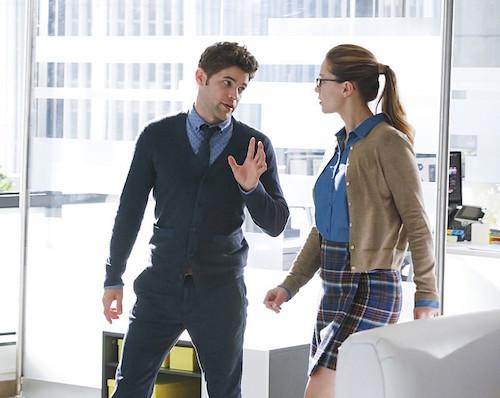 Jeremy Jordan Melissa Benoist Supergirl Hostile Takeover