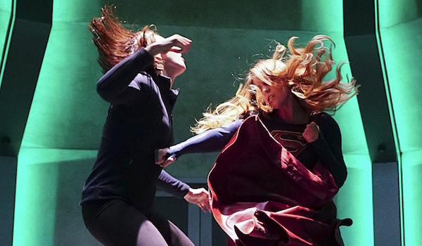Laura Benanti Melissa Benoist Supergirl Hostile Takeover