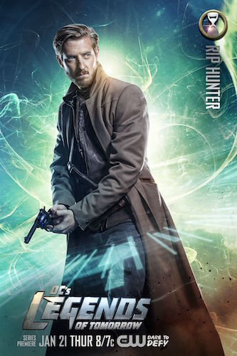 Legends of Tomorrow Poster Arthur Darvill