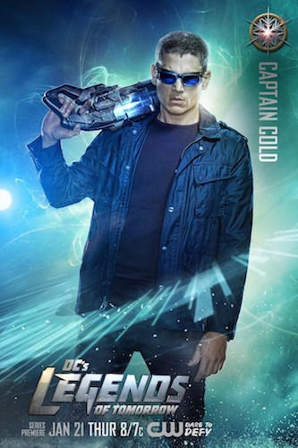 Legends of Tomorrow Poster Wentworth Miller