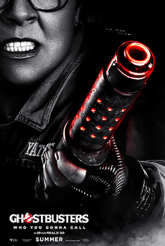 Melissa McCarthy Ghostbusters Character Poster