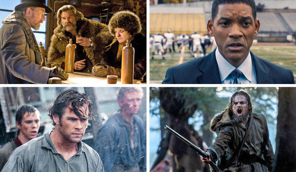 The Hateful Eight Concussion In The Heart of the Sea The Revenant