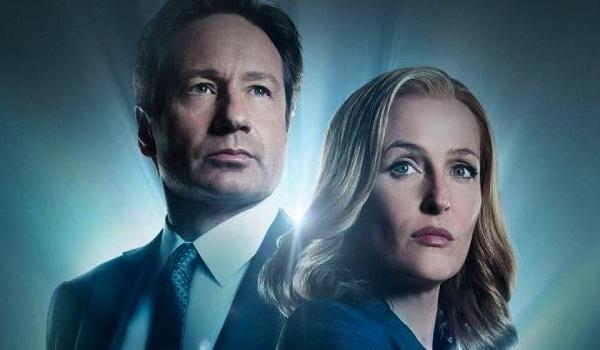David Duchovny Gillian Anderson The X-Files