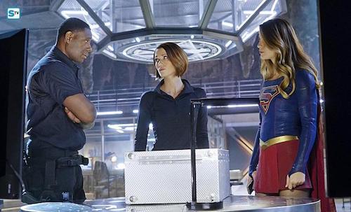 David Harewood Chyler Leigh Melissa Benoist Bizarro Supergirl