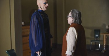 Denis O'Hare Kathy Bates American Horror Story Battle Royale