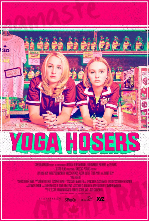 Harley Quinn Smith Lily Rose Depp Yoga Hosers