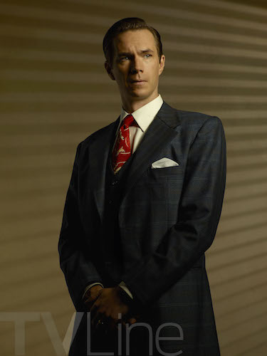 James D'Arcy Agent Carter Season Two