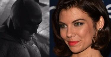 Lauren Cohan Batman v Superman