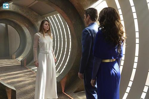 Melissa Benoist Robert Gant Laura Benanti The Girl Who Had Everything Supergirl