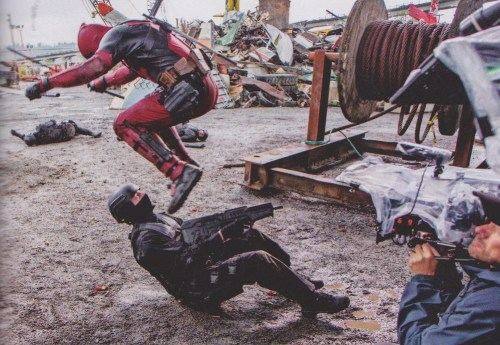 Ryan Reynolds Deadpool Set Empire Magazine