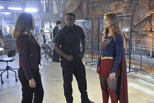 Tawny Cypress David Harewood Melissa Benoist Strange Visitor from Another Planet Supergirl