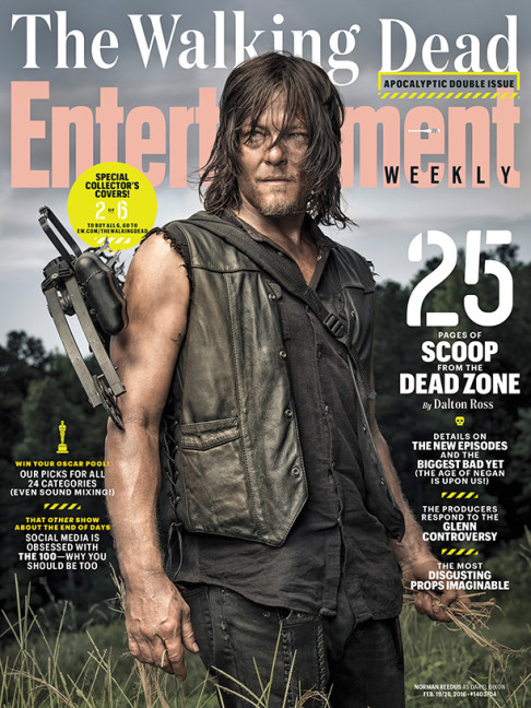 Norman Reedus The Walking Dead season 6.2