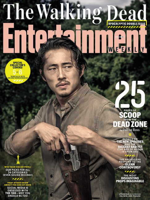 Steven Yeun The Walking Dead season 6.2