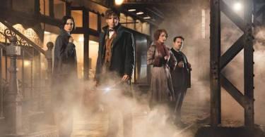 Eddie Redmayne Katherine Waterston Alison Sudol Dan Fogler Fantastic Beasts and Where to Find Them