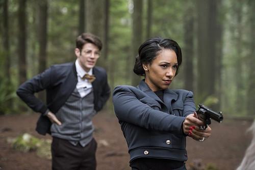 Grant Gustin Candice Patton Escape From Earth-2 The Flash