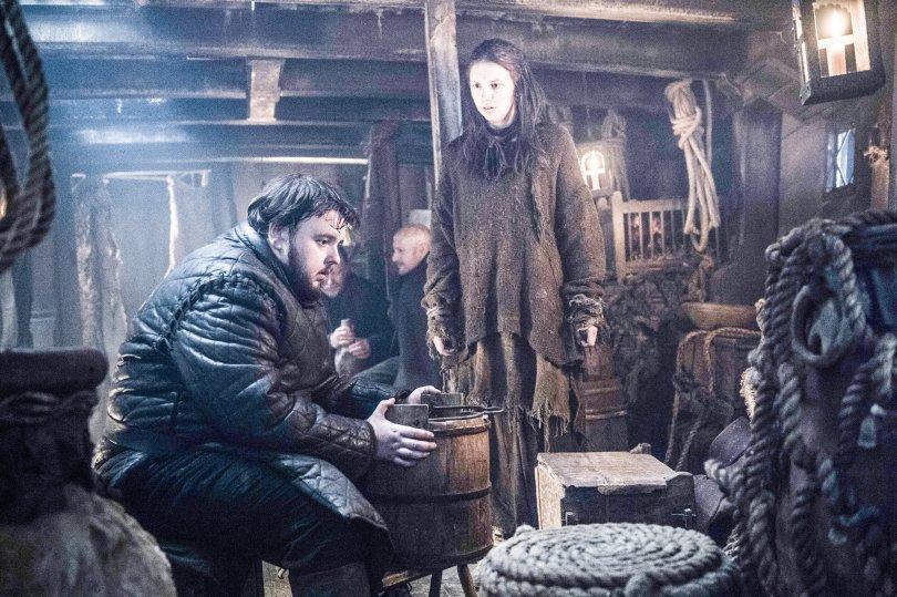John Bradley Hannah Murray Game of Thrones Season 6