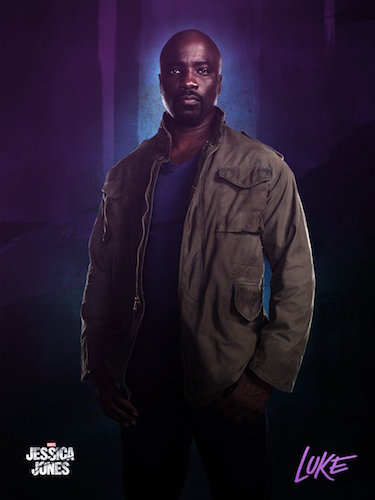 Mike Colter Luke Cage Jessica Jones Poster