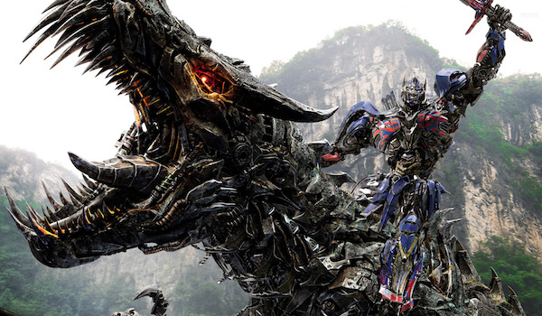 Optimus Prime Grimlock Transformers: Age of Extinction