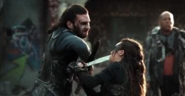 Zach McGowan Alycia Debnam-Carey The 100 Watch the Thrones