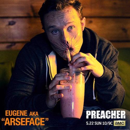 Ian Colleti Arseface Preacher