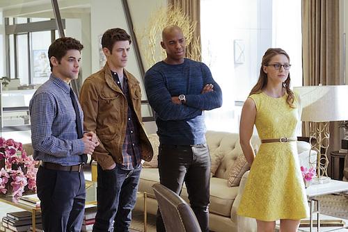 Jeremy Jordan Grant Gustin Mehcad Brooks Melissa Benoist World's Finest Supergirl
