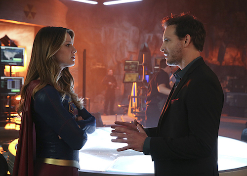 Melissa Benoist Peter Facinelli Better Angels Supergirl