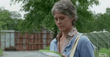 Melissa McBride The Walking Dead Not Tomorrow Yet
