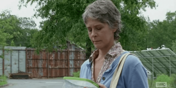 Melissa McBride The Walking Dead Not Tomorrow Yet