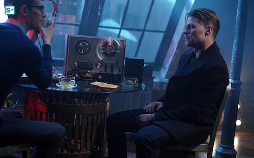 Cory Michael Smith Ben McKenzie Into The Woods Gotham