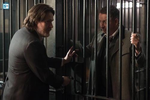 Donal Logue Sean Pertwee Pinewood Gotham