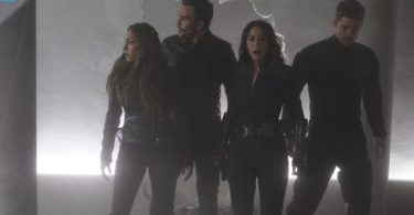 Natalia Cordova-Buckley Juan Pablo Raba Chloe Bennet Luke Mitchell Agents of S.H.I.E.L.D. The Team