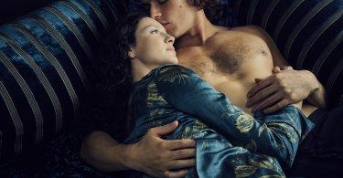 Sam Heughan Caitriona Balfe Outlander: Season 2