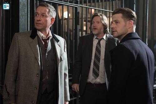 Sean Pertwee Donal Logue Ben McKenzie Pinewood Gotham