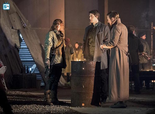 Sharon Taylor Brandon Routh Arthur Darvill Leviathan Legends of Tomorrow