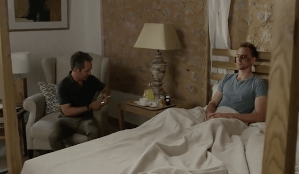 Tom Hollander Tom Hiddleston The Night Manager Episode 2 Promo